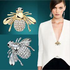 Fantastic Pin Chic Rhinestone Animal Brooch Jewelry Cute Bee Brooches Pins  R