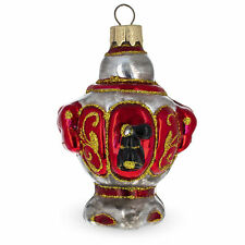 Samovar Russian Teapot Glass Christmas Ornament