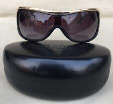 d2277c0b12 Auth PRADA Vintage Tortoise Gold Accents 1990 Sunglass Oversized Lady Gaga  Style