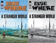 Elsewhere #3 Asrar Walking Dead #93 Tribute Variant Image Comic Book Set of 2 NM