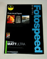 Fotospeed Matt Ultra Inkjet Paper 240gsm A3 50 Sheets