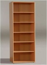 TEMPRA TALL BOOKCASE / BOOKSHELF FILING FURNITURE BEECH KR01-127