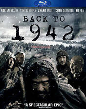 BACK TO 1942 (Blu-ray Disc, 2013) Chinese Epic Drama NEW [See Description]