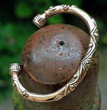 edles Replikat Moserstein Grab 16/2 Armreif Bronze Mittelalter Kelten Armspange