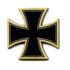 Maxi Kreuz Cross Biker Motorrad Fan Metall Button Badge Pin Pins Anstecker 0121