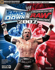 USED (GD) WWE SmackDown vs Raw 2007 Signature Series Guide (Bradygames Signature