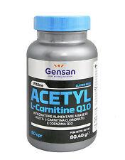 ACETIL L-CARNITINA 1000mg + COENZIMA Q10 GENSAN 60 CPS.