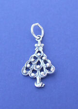 CHRISTMAS TREE CHARM 925 STERLING SILVER