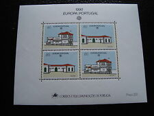 PORTUGAL - timbre yvert et tellier europa bloc n°72 n** - stamp portugal