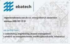 Telefoonkaart / Phonecard Nederland CRE083 ongebruikt - Ebatech