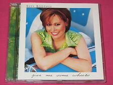 Suzy Bogguss Give Me Some Wheels 1996 CD Album Folk Country World