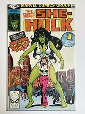 Savage She-Hulk #1 (1980) — Origin & 1st Appearance of She-Hulk