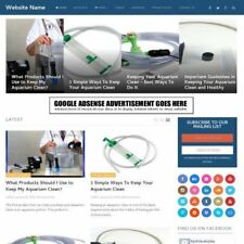 Aquarium Store Work From Home Online Business Website For Sale Hosting