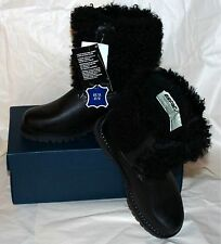 Women's OSCAR SPORT APRES SKY GOAT FUR BOOTS Size-7 Hand Made in Italy