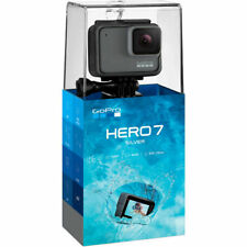 GoPro HERO7 Silver 4K Water Resistant Action Camera - Brand New SEALED