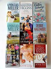 9 ROMANCE Novels Assorted * Schulze * Woods * Bernard * Higgins * Miller * Lot B