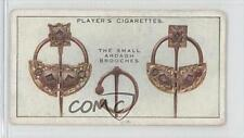 1930 Player's Treasures of Ireland Tobacco Base #1 The Small Ardagh Brooches 1m8