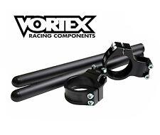 Vortex 43mm Clip-On Handle Bars - R6 GSXR RC30 CBR600 F4 F4i ZX7 ZX11 M2 TT600