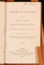 1803 2vol HISTORY of ENGLAND by Oliver GOLDSMITH