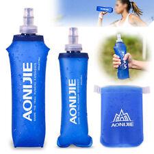aonijie Plegable Suave flask TPU exterior correr Agua Deporte Botella 170/250/