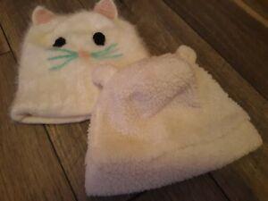 Carters Toddler Girls Winter Hat Lot - Cute!