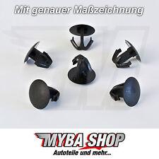 10x Dichtung Befestigung Gummi Clips für Honda Suzuki Mazda Uni | 91518-SM4-003