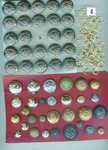 Selection of Military buttons.