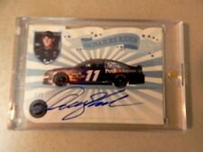 DENNY HAMLIN 2013 PRESS PASS SIGNATURE RIDES AUTOGRAPHED # 1 / 1..VERY RARE