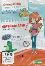 CD-ROM + Lernspaß mit Hexe Lilli + Mathematik 3. und 4. Klasse + Lernen + Win