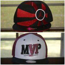 Nike Michael Jordan Jumpman Snapback 7 1/4 3/8 1/2 3/4 Hat Cap Black Purple MVP