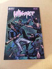 Whisper 8  . First 1987  -    VF - minus