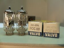 MATCHED PAIR 1960's Amperex Holland Valvo pcc88 (6dj8 6922) δ Tube Tube New 6