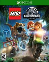 LEGO Jurassic World (Microsoft Xbox One XB1) Brand New Factory Sealed
