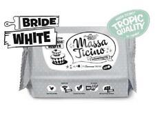 Massa Ticino Tropic Fondant 12 x 1 Kg Flowpack bride white weiß Rollfondant