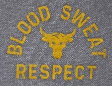 Mens EUC Gray Heather UNDER ARMOUR x PROJECT ROCK Training Sweat Shorts size 2XL