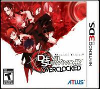 Shin Megami Tensei: Devil Survivor Overclocked Nintendo 3DS Brand New