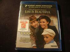 Life is Beautiful Blu-Ray 2011 New Sealed