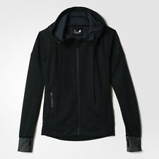 adidas Polyester No Pattern Casual Coats & Jackets for Women