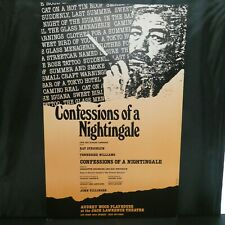 "Confessions of A Nightingale Theater Broadway Window Card Poster 14"" x 22"""