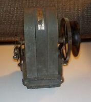 Antique Western Electric Telephone Morse Code Hand Crank Generator 3 bar
