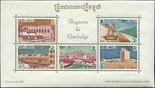 Cambodia  Scott #105a Souvenir Sheet Mint Never Hinged
