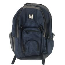 """Ful Laptop Backpack - Blue/Gray- Padded/19"""" Height - Great Condition"""