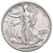 AU/Unc - Original - 1943-S Walking Liberty Silver Half Dollar - Better *029