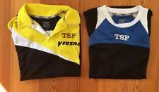 2 TSP Kinder-/Jungen-Tischtennis-Trikots; Größe XS