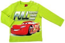 NEU!! Disney Cars Langarmshirt LongsleeveT-Shirt Shirt Baumwolle lemon 86