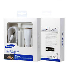 Retail Boxed Samsung Galaxy S7 S6 Edge Note 5/4 Fast Car Charger + USB Cable