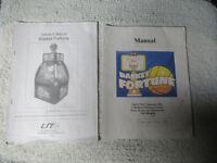 BASKET FORTUNE   arcade game manual