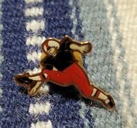 Football player Punter vintage Pin