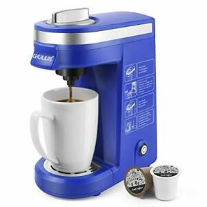 CHULUX Coffee Maker MachineSingle Cup Pod Coffee Brewer with Quick Brew Techn...