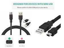 Mini USB & Data Sync Charger Lead Cable for SJCAM SJ5000X Elite | Car Dash Cam